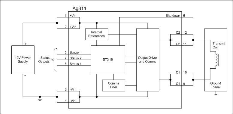 Ag311 Block Diagram